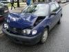 Stłuczka Toyoty w Warszawie