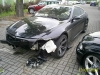 Rozbite BMW w Warszawie